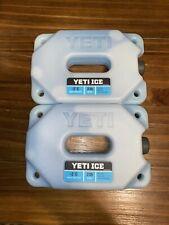 Yeti Ice Refreezable Ice Packs 2 Lb (New)