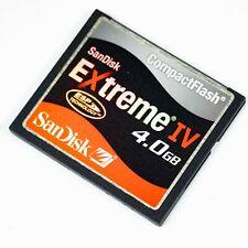SanDisk Extreme IV 4GB  CompactFlash I Card