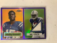 Phillip Dorsett 2015 Topps Chrome Rookie Relic /75🔥Colts🔥