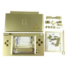 Full housing shell for DS Lite replacement repair parts - Zelda Gold   ZedLabz