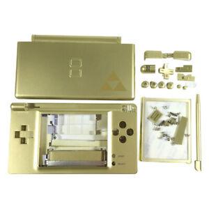 Full housing shell for DS Lite replacement repair parts - Zelda Gold | ZedLabz