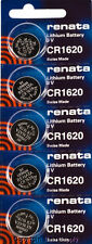 5 pcs Cr 1620 Renata Lithium Batteries Free Ship