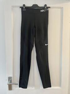 Nike Pro Women's Hypercool Running Workout Leggings Black Size Small