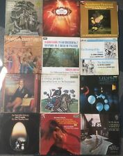 JOB LOT Vinyl Record Collection Classical, Bach,Beethoven,Handel,Schubert,mozart