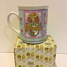 """Precious Moments """"Brighten Every Day with a Smile"""" Coffee Cup - Mug ~ New in Box"""