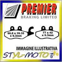 PASTIGLIE FRENI POSTERIORI ORGANICHE PREMIER PIAGGIO Beverly 300 (278cc/4T) 2010