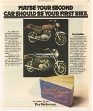1980 Suzuki GS-450 GS-550 Motorcycle Vtg Print Ad