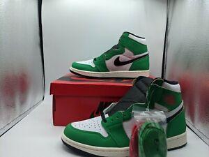 """Nike Air Jordan 1 Retro OG High """"Lucky Green"""" DB4612-300 Women's Size 7.5"""