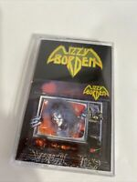 LIZZY BORDEN Visual Lies Cassette Tape Enigma Metal Blade Records 4xt-73288