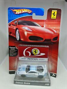 Hot wheels 60th anniversary ferrari racer f40 white free shipping 2