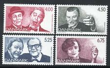 Denmark MNH 1999  Famous Danish Comedians