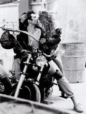 Harley Davidson by Frank Schott Art Print Motorcycle Kissing Poster 23.5x31.5