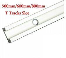 New 800mm Aluminium Alloy T-Track Woodworking T-Slot Miter Track