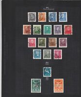 hungary 1932-38 used  stamps page ref 17638