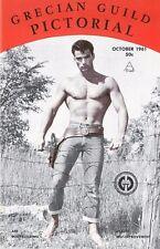 Grecian Guild Pictorial No.32, October 1961, Vintage Male Beefcake Magazine
