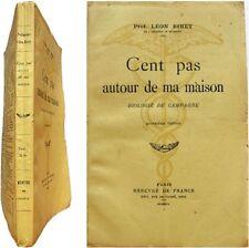 Cent pas autour de ma maison biologie de campagne 1941 prof. Léon Binet animaux