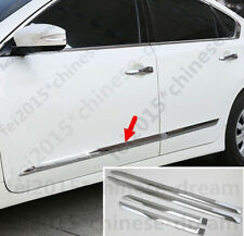 Car Side Door Body Molding Cover ABS Trim 4PCS For Nissan Teana Altima 2013-2017