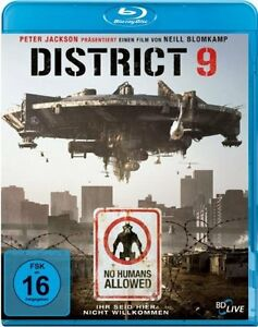 °DISTRICT 9° Blu-Ray Ein Film von Neill Blomkamp 2010 NEU OVP