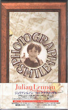 JULIAN LENNON - Photo Smile RARE JAPANESE Edition with lyric booklet!! - NEW!!!