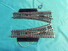 1 Pair of Maerklin H0 -2261-Turnouts, electric with drive.