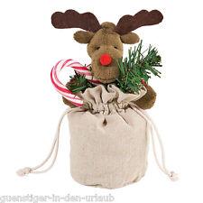 Weihnachtsbeutel ELCH Nikolausbeutel Nikolausstiefel Beutel Geschenk Verpackung