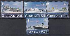 Gibilterra/Gibraltar  2005 Navi da crociera 1 serie 1145-48   MNH