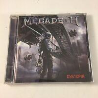 MEGADETH - DYSTOPIA CD (2016, Universal Music)