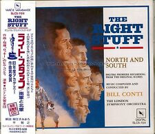 """Bill Conti """"THE RIGHT STUFF"""" score Japan SLC CD out of print"""