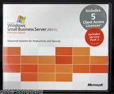 Microsoft Windows Small Business Server SBS 2003 R2 Premium Edition inc 5 CAL