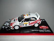 TOYOTA COROLLA WRC RALLY MONTE CARLO 2000 THIRY ALTAYA IXO 1/43