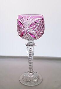 Antike Saint Louis Römerglas Kristallglas Eingeschlossene Stängelspirale 👈👈
