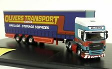 Oxford 1/76 Scale Scania R470 Topline Olivers Transport Diecast Model Truck