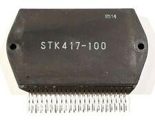 STK417-100 2-Channel High Effiency AF Power Amplifier 50W x 2 - 100W X 2 SANYO