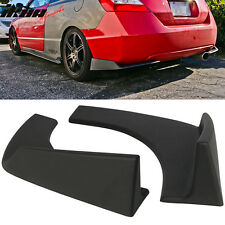 Universal Fit Front Rear Bumper Lip Splitters Winglets Canards 30x4 Inch 2PC PP