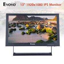 Eyoyo 13'' Full HD 1920x1080 Video Audio VGA BNC HDMI Input IPS Monitor 300cd/m2