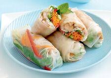 Three Ladies Vietnamese Vietnam Rice Paper Spring Rolls Salad Wraps 340g