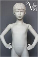 IDW Schaufensterpuppe 115 cm Weiß Schaufensterfigur Kind Mannequin Junge (7)