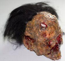 Deluxe Zombie Head Halloween Skull Prop
