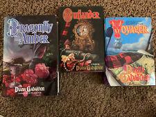 Diana Gabaldon Lot, Outlander, Voyager, Dragonfly In Amber, Hardbacks