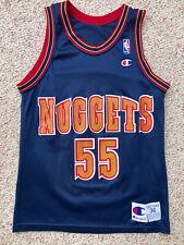 Denver Nuggets Dikembe Mutombo Champion Basketball Jersey 36