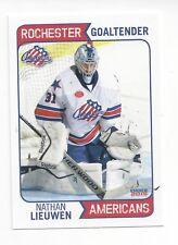 2014-15 Rochester Americans (AHL) Nathan Lieuwen (Colorado Eagles)