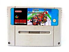 SUPER MARIO KART CARTRIDGE SUPER NINTENDO SNES PAL