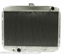 "Mustang Radiator Alloy 55mm 2 Core 1967 1968 67 68 390 428 Big Block 24"" Wide V8"