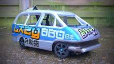 Toyota Previa  RC Banger Racing Body shell 1:12  Kamtec Dreamy Hippo ABS £6.99