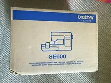 BRAND NEW! Brother SE600 Computerized Combo Sewing & Embroidery Machine IN Hand