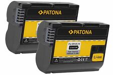 2 x Akku PATONA 1600mAh für Nikon D7100 Body / EN-EL15 100% DECODIERT