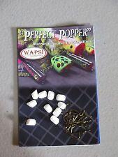 Wapsi Perfect Popper Hard Foam Blanks with Hooks - size Bream #12