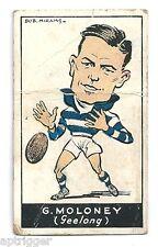 1933 Carreras (Standard Cigarettes) (33) G. MOLONEY Geelong
