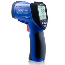 HCJYET HT-8872 High Temperature Laser IR Infrared Thermometer Detector -50~1250℃