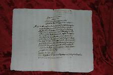 Regno Italico 1806 Epoca Napoleone in Italia Comune di Massa Fiscaglia - Rogito